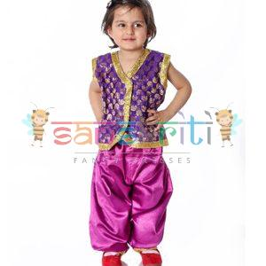 Indo Western Fancy Dress Costume