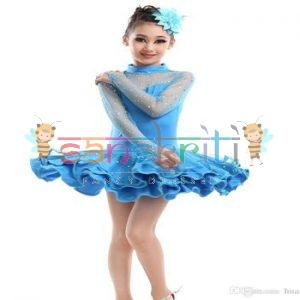 wholesaler cheap girl 039 s latin dance dress