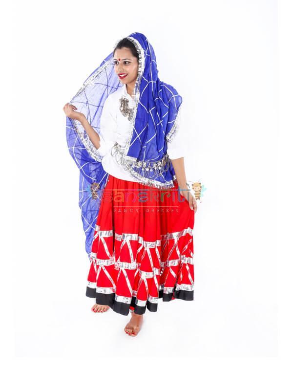 Haryanvi Dance Dress