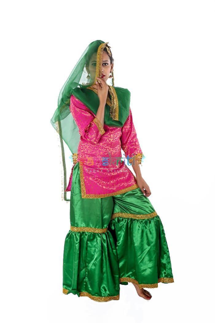 Sharara Dance Dress