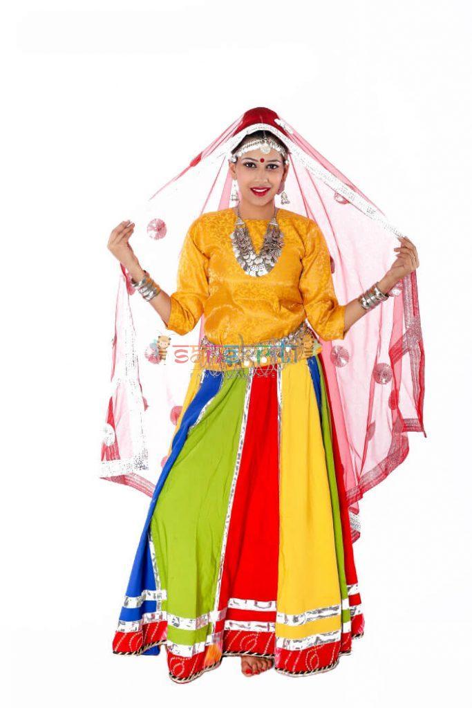 Ghoomar Dance Dress