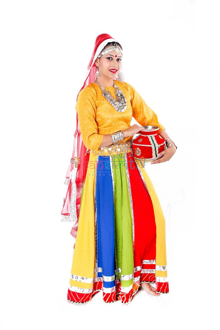 Ghoomar Dance Dress