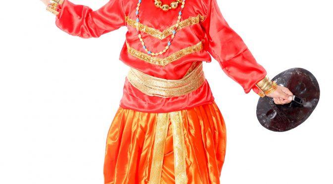 Chhau Dance Dress
