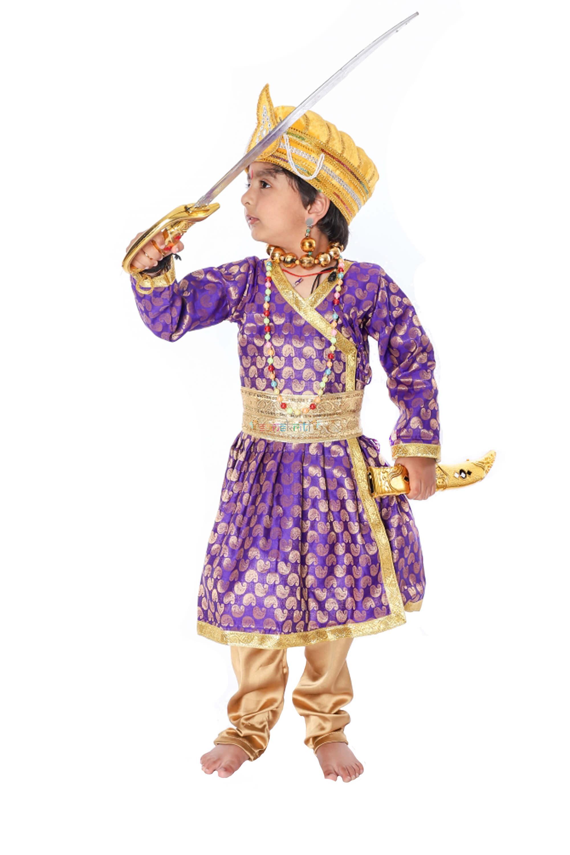 Mughal King Akbar Costume