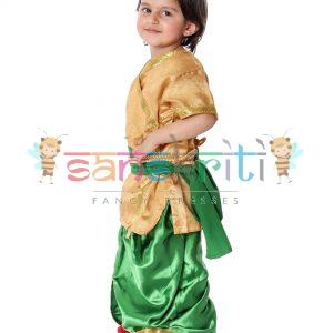 Semi Classical Dance Dress