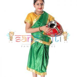Indian Folk Dance Dress