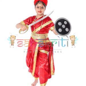 Jhansi Ki Rani Laxmi Bai Costume