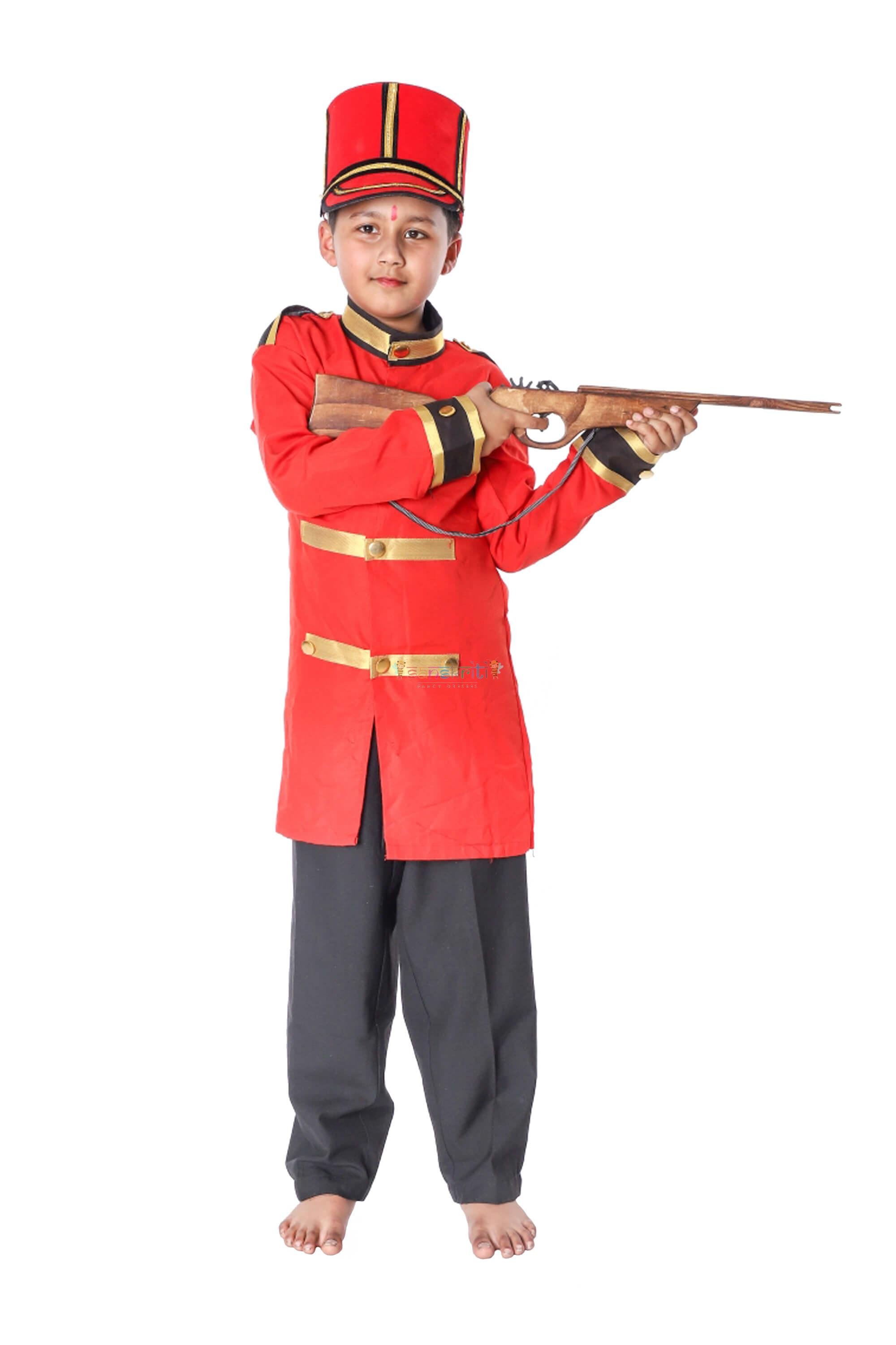 British Solider Dress