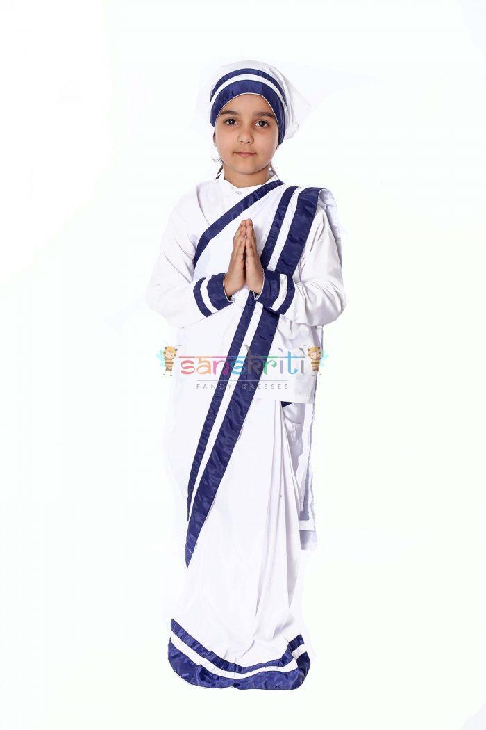 Mother Teresa Fancy Dress