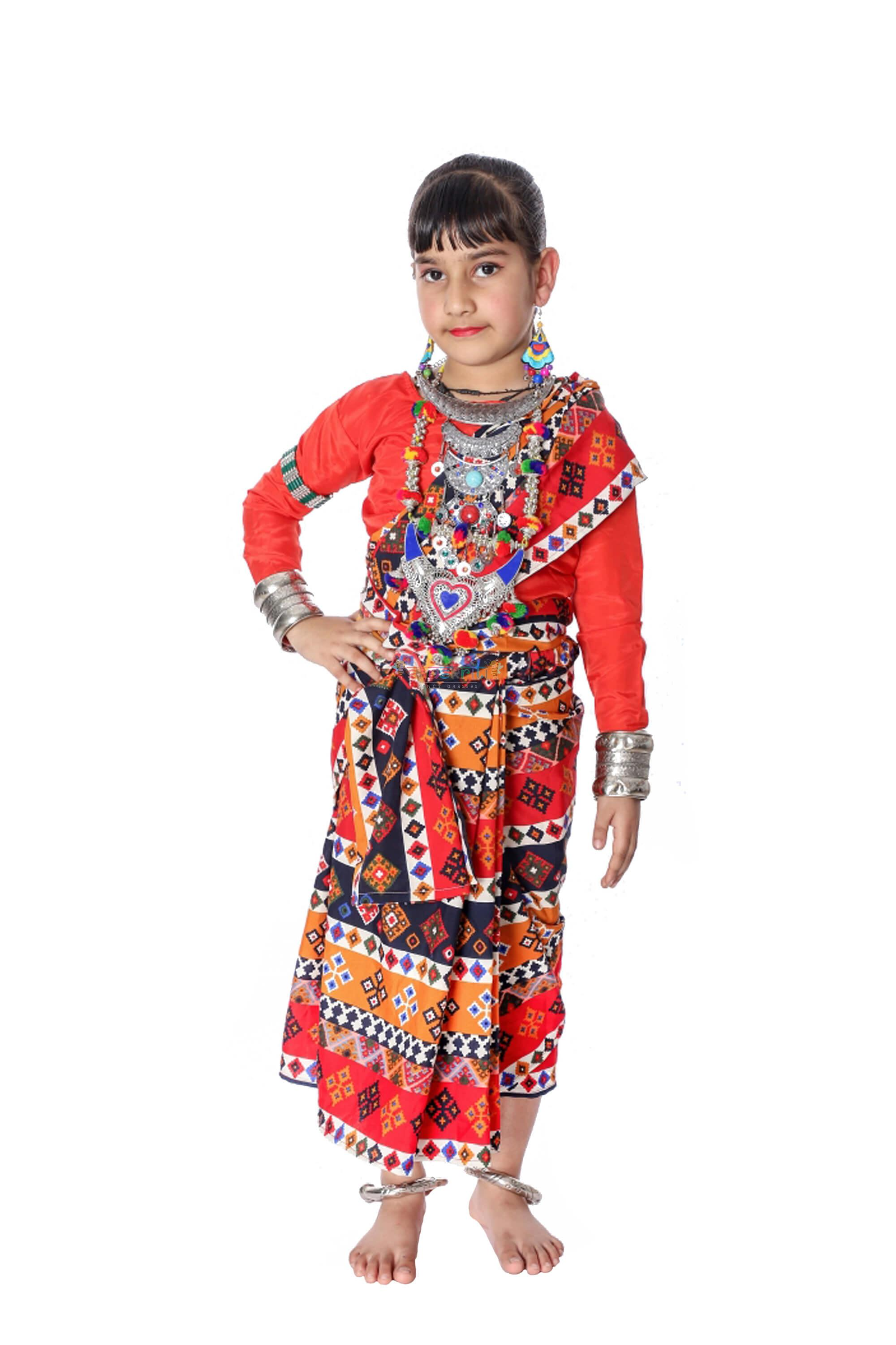 Sambalpuri Dance Dress