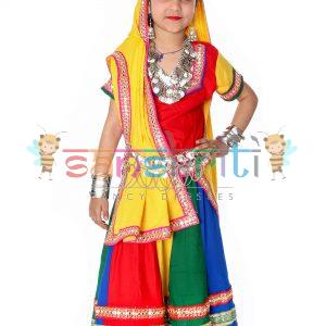 Multicolor Lehenga Dance Dress