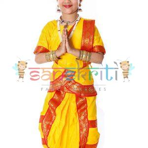 Bharatnatayam Classical Dance Dress