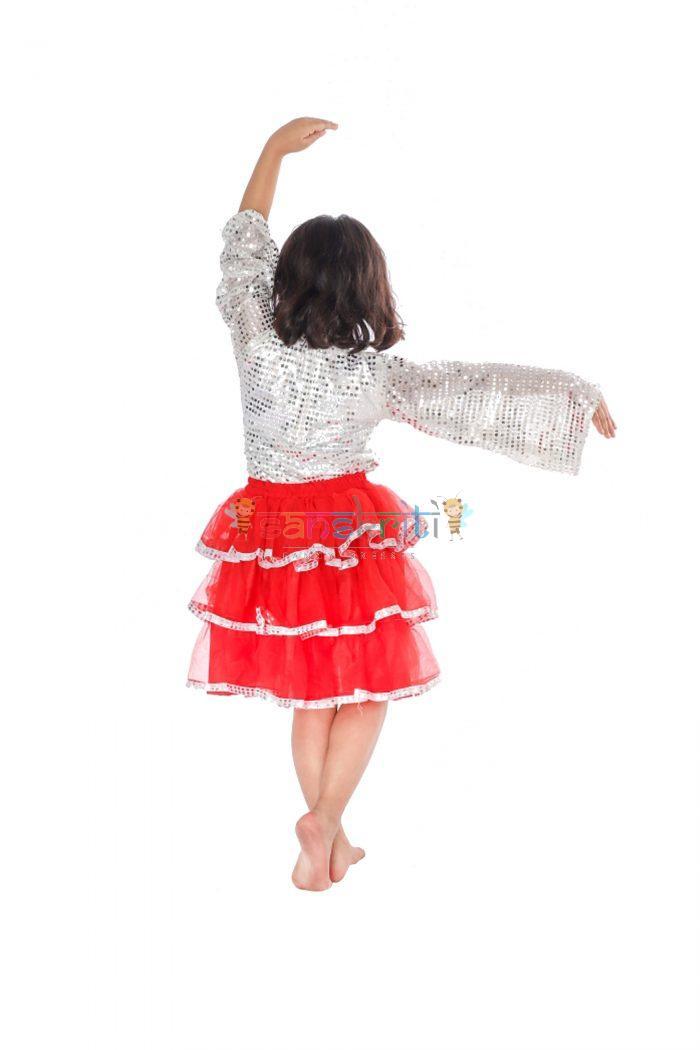 Western Frock Dance Dress