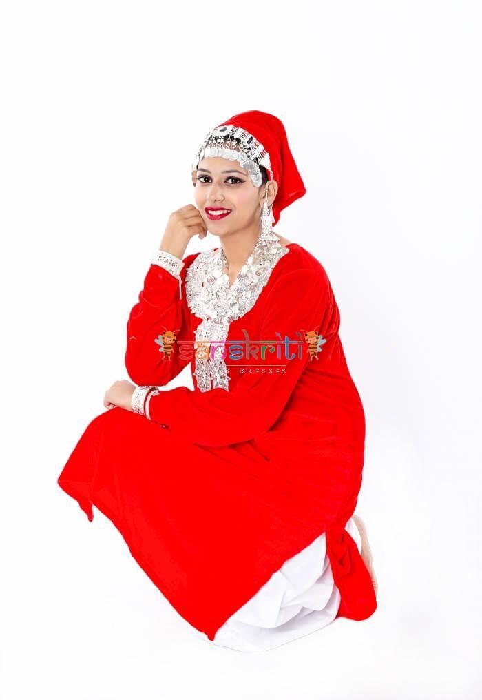 Kashmiri Dance Dress
