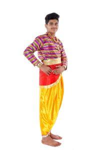 Semi Classical Dance Costume Dress For Boys