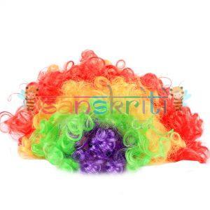 Multi Color Joker Wig