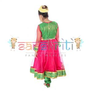 Anarkali Kathak Dance Dress