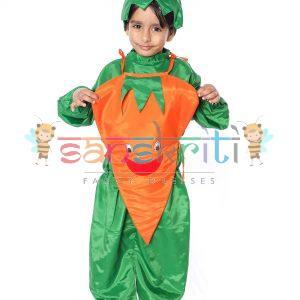 Carrot Kids Fancy Dress Costume