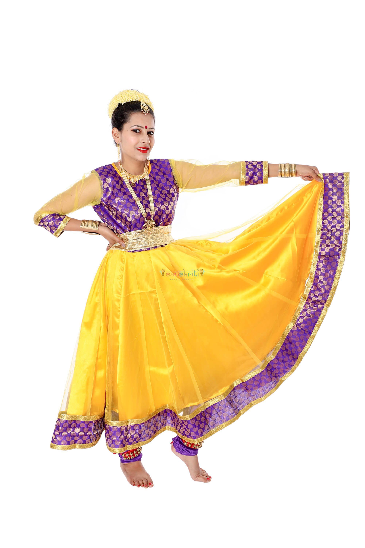 Anarkali Kathak Dance Dress