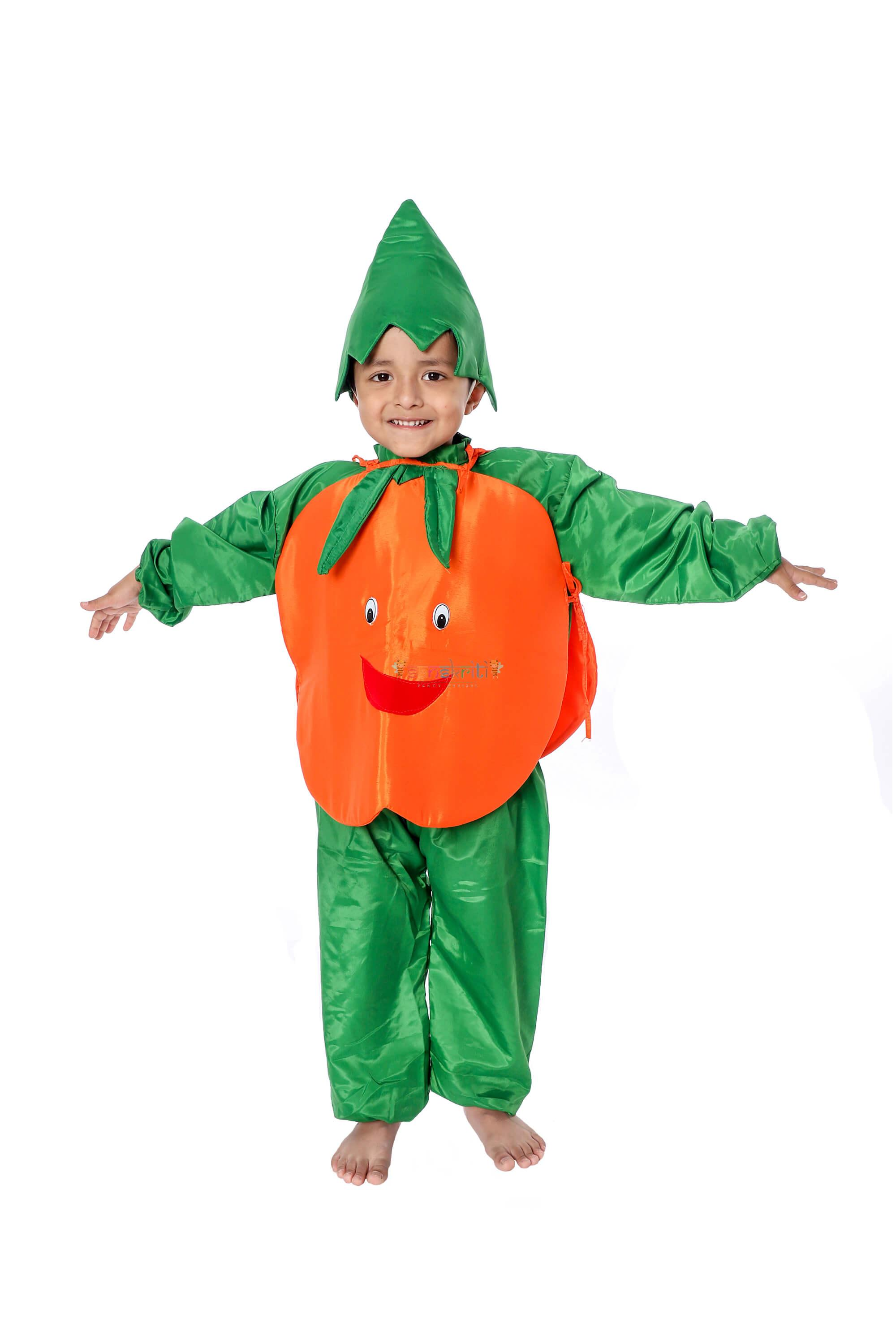 Orange Fancy Dress