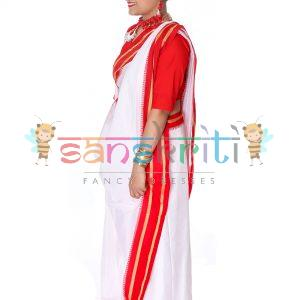 Bengali Saree Fancy Dress