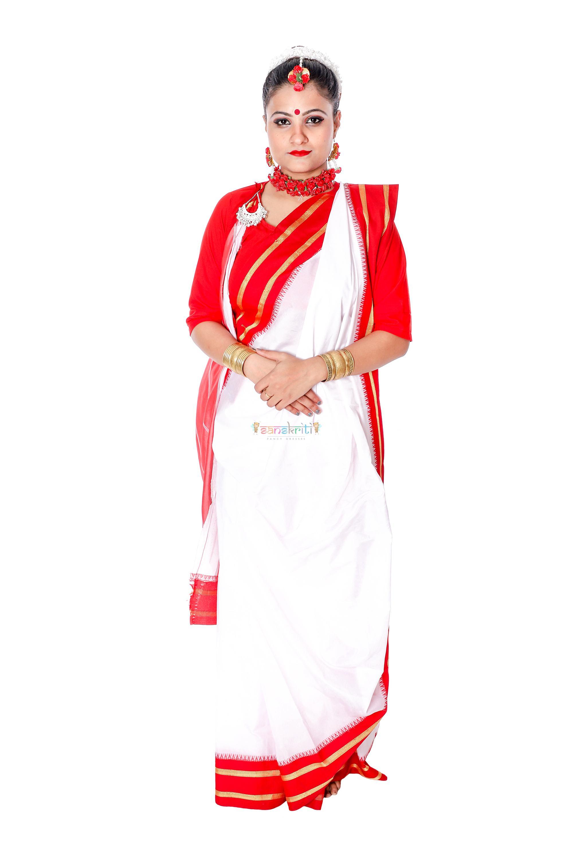 Bengali Saree Fancy Dress