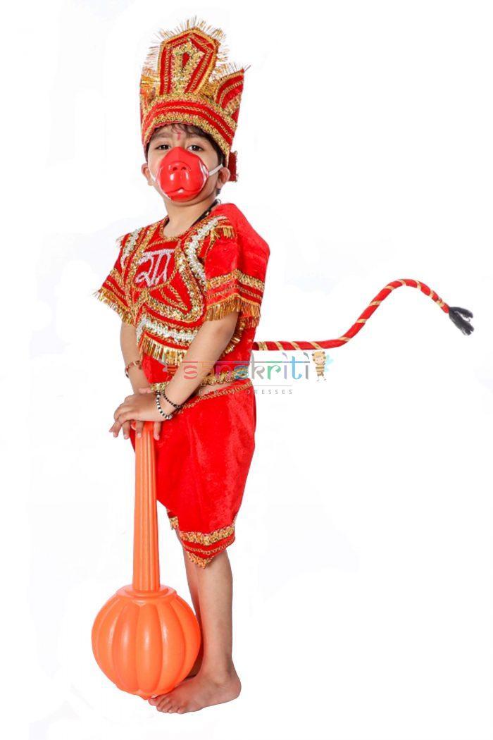 Lord Of Hanuman Fancy Dress