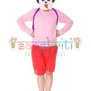 Shin-Chan Cartoon Fancy Dress Costume