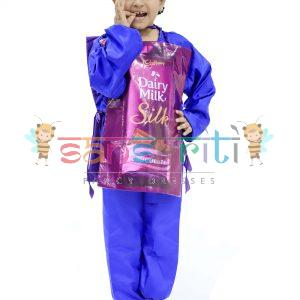 Dairy Milk Chocolate Fancy Dress Costume