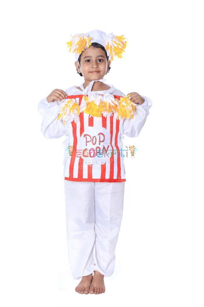 Popcorn Fancy Dress Costume For Kids