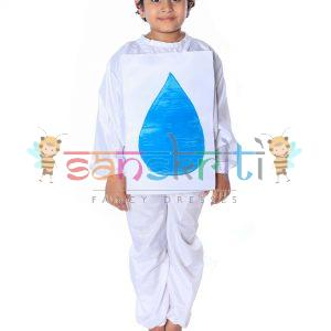 Water Drop Fancy Dress Costume