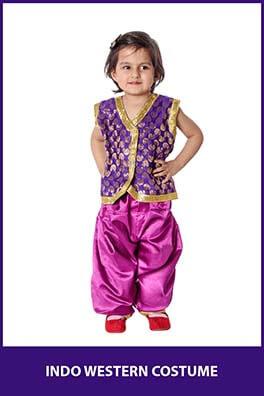 Indo Western Dance Costume