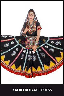 Kalbelia Dance Dress