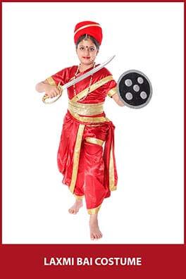 Laxmi Bai Costume