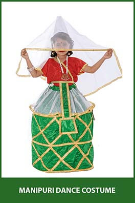 Manipuri Dance Costume