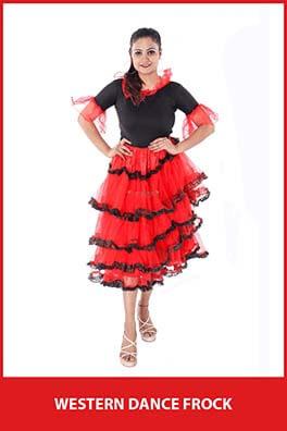 Western Dance Frock