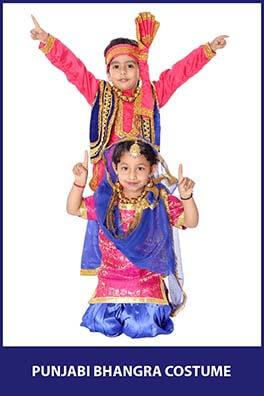 Punjabi Bhangra Costume