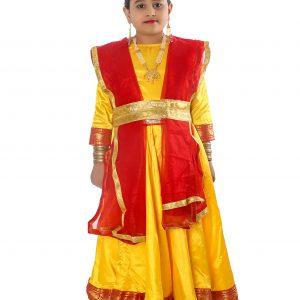 Kathak Dress Anarkali Style