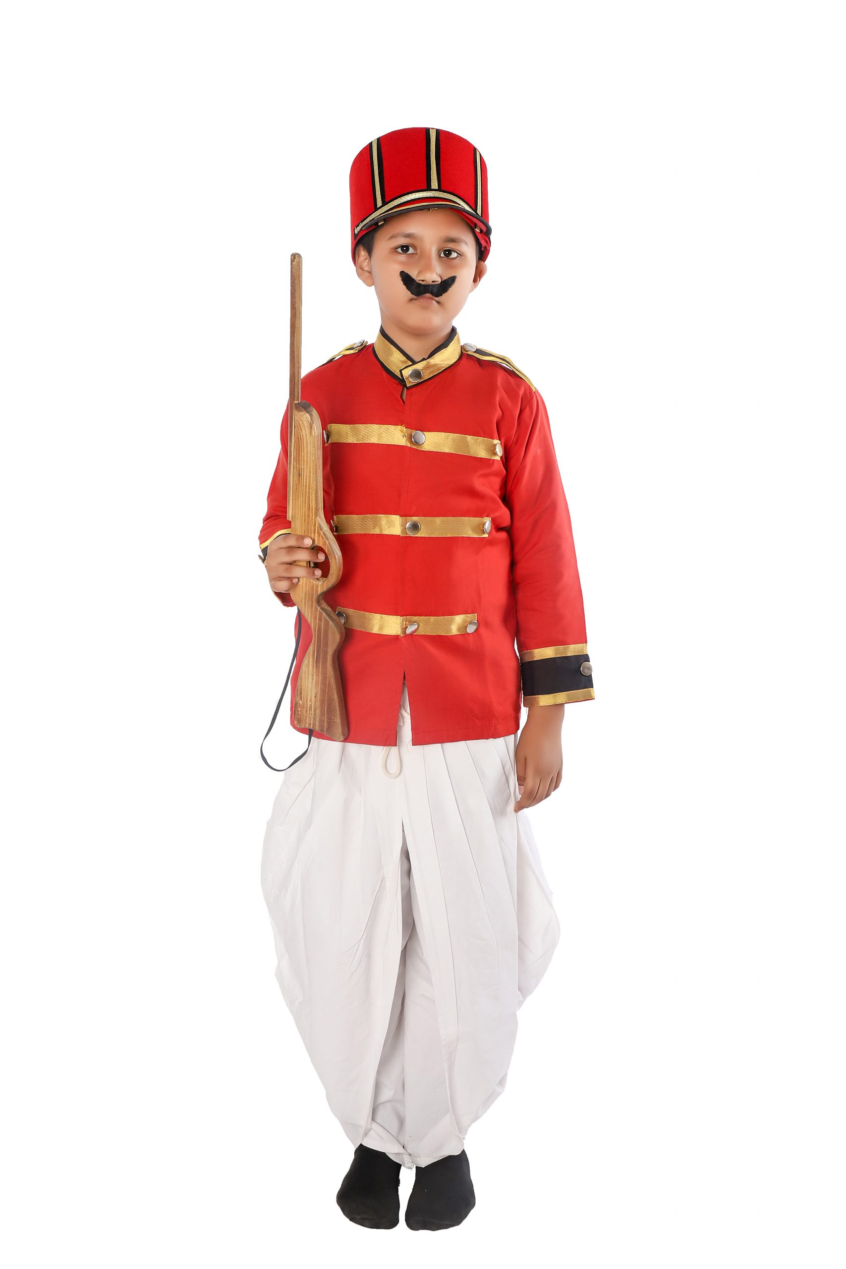 Mangal Pandey Fancy Dress Costume