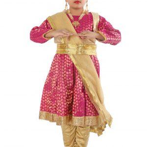 Kathak Dance Dress Anarkali Style