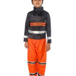 Fire Fighter Fancy Dress Costume