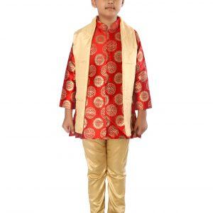 Achkan Churidar Suit for Boy