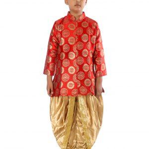 Achkan Dhoti Dress for Boy