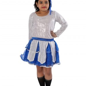 Skirt and Top Western Dance Fancy Dress Costume