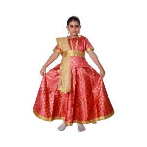 Kathak Fancy Dress Costume For Classical Dance