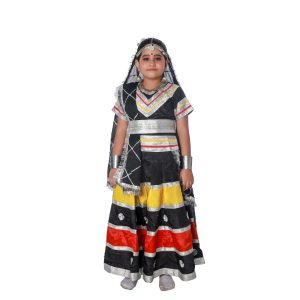 Kalbelia Dress Costume For Girls
