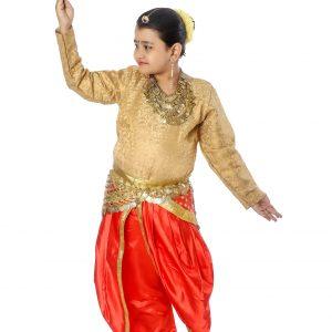 Indian Semi Classical Dance Dress