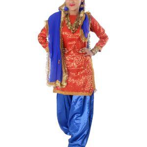 punjabi folk dance fancy dress costume