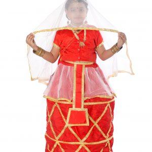manipuri dance fancy dress costume