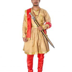 king AKBAR fancy dress costume